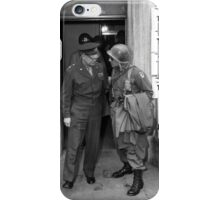 General Eisenhower and General Ridgway -- WWII iPhone Case/Skin