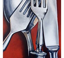 Sterling Cutlery  Photographic Print