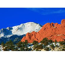 Love in the Rockies Photographic Print