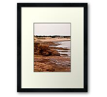 Rocks at Cavendish Beach, PEI, Canada Framed Print