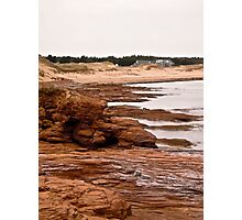 Rocks at Cavendish Beach, PEI, Canada Photographic Print