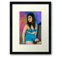 Sensuality in Color Framed Print