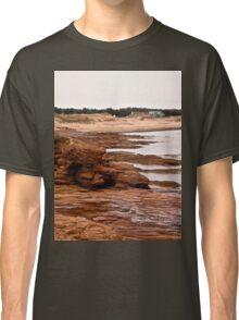 Rocks at Cavendish Beach, PEI, Canada Classic T-Shirt