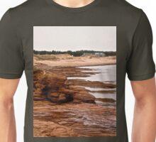 Rocks at Cavendish Beach, PEI, Canada Unisex T-Shirt