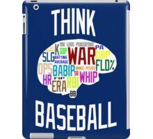 Think Baseball iPad Case/Skin