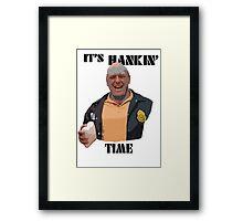 It's Hankin' Time Framed Print