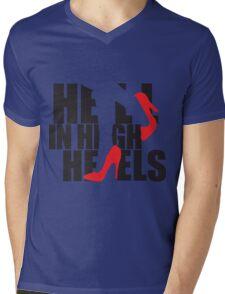 Hell in High Heels Mens V-Neck T-Shirt