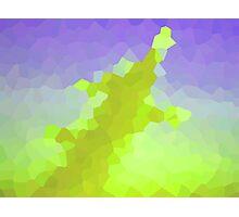 neonflash abstract art fabrics Photographic Print