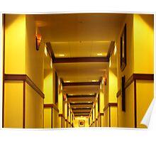 Three Rivers Casino and Hotel Hallway 2 Poster