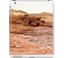 Rocks and Sand Dunes at Cavendish Beach, PEI Canada iPad Case/Skin