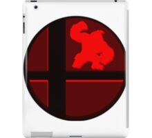 Smash Bros. Donkey Kong iPad Case/Skin