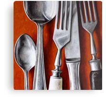 Sterling Cutlery  II Metal Print
