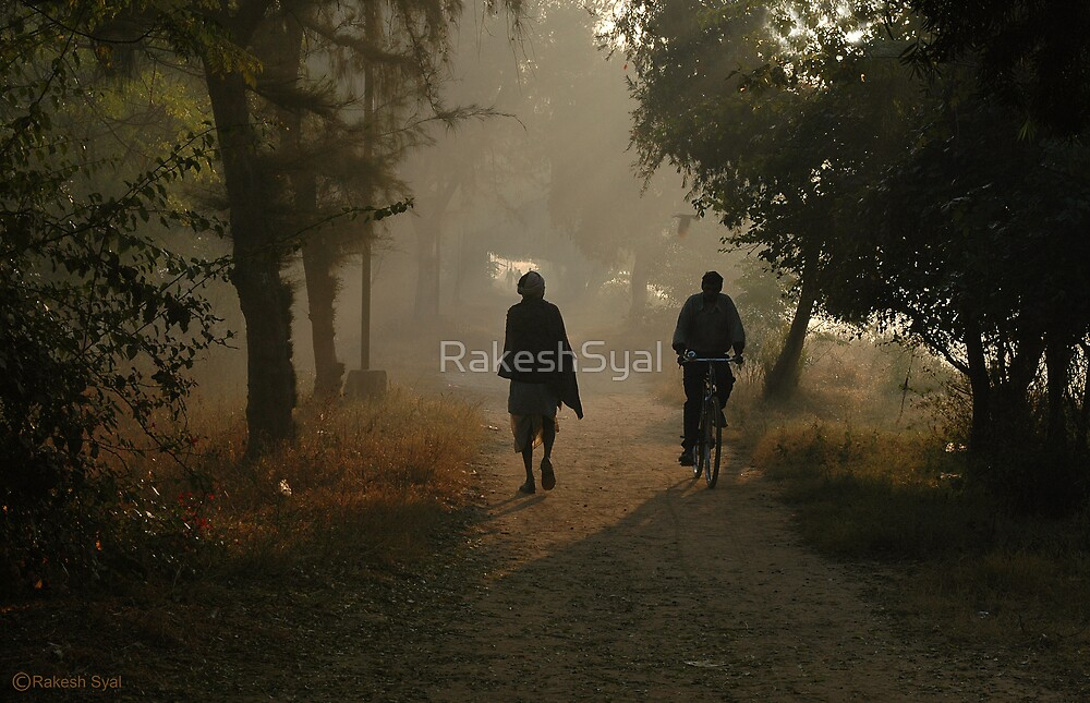 ROAD TO A VILLAGE by RakeshSyal