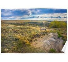 Prairie Road to nowhere........ Poster