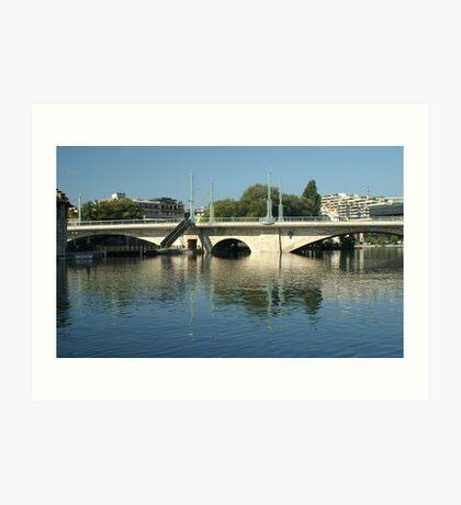 Coulou bridge Art Print