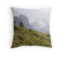 The Eiger Throw Pillow