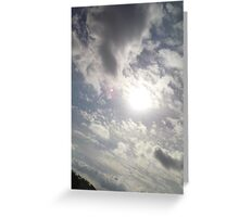sullen sky Greeting Card