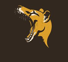 Tasmanian Tiger stencil Womens Fitted T-Shirt