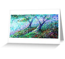 Healing Trees Greeting Card