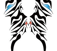 M Wings - Tribal Design by Valentina Miletic by Valentina Miletic
