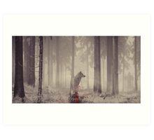 Ghost... Art Print