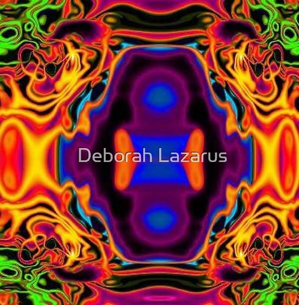 Jimi Hendrix Experience by Deborah Lazarus