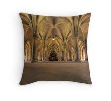 Glasgow University Cloisters Throw Pillow