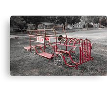 the Fire Engine of old Canvas Print
