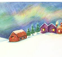 Winter Scene by Artofliisalang