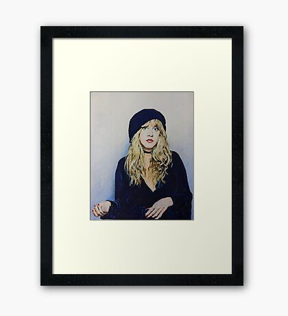 Stevie Nicks Fan Art Framed Print
