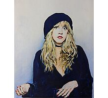 Stevie Nicks Fan Art Photographic Print