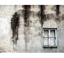 Dreary Window Photographic Print