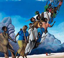 Into The Blue Sky by CaptiveArts