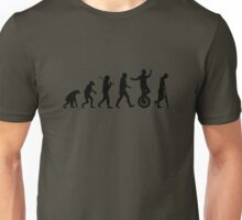evolution overconfidence Unisex T-Shirt