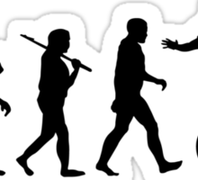 evolution overconfidence Sticker