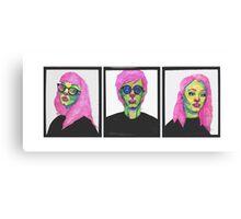 Punk Undead Canvas Print