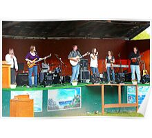 The Daae Family Band Poster