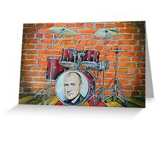 Phil Collins Fan Art Greeting Card
