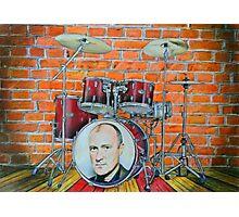 Phil Collins Fan Art Photographic Print