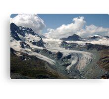 Along the Gornergrat Glacier, Zermatt, Switzerland Canvas Print