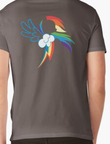 The Dash mark Mens V-Neck T-Shirt