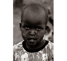 Masai II Photographic Print
