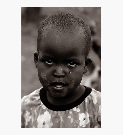 Masai II Photographic Print