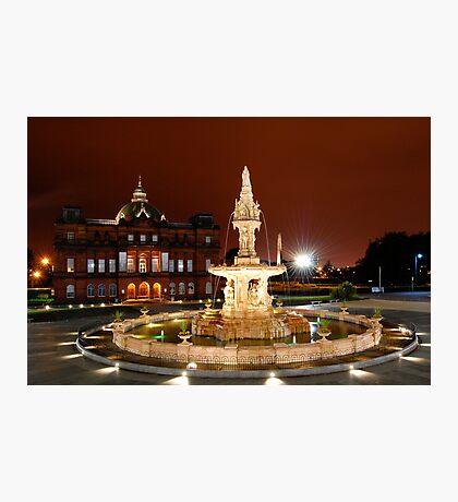 Doulton Fountain Photographic Print
