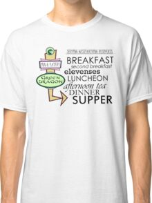 The Green Dragon Serves ALL the Hobbit Meals Classic T-Shirt