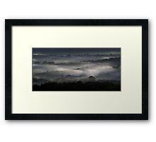 Abstract Sunrise Framed Print