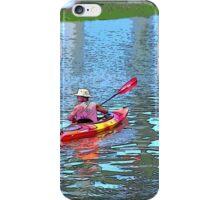 Kayak solo iPhone Case/Skin