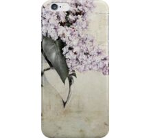 The lilac morning iPhone Case/Skin