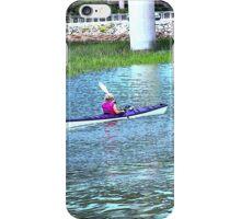 Kayak ladies iPhone Case/Skin