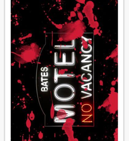 Bloody Bates Motel - iPhone Case Sticker